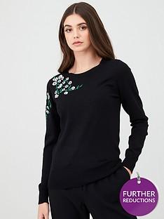 oasis-embroidered-jumper-black