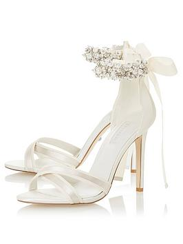Dune London Dune London Bridal Mrs Heeled Sandals - Ivory Picture