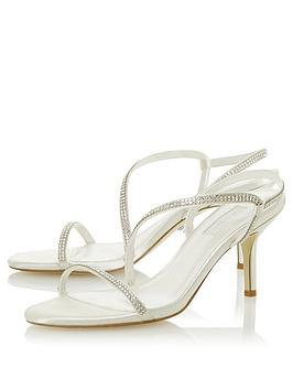 Dune London Dune London Bridal My Love Heeled Sandals - Ivory Picture