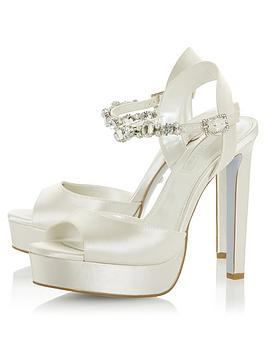 Dune London Dune London Bridal Miracle Heeled Sandals - Ivory Picture