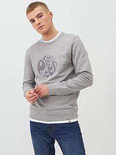pretty-green-havlock-applique-logo-sweatshirt-light-grey-marl