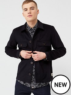 pretty-green-onerous-wool-overshirt-black