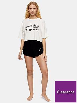 topshop-nightday-slogan-pyjama-set-oatmeal