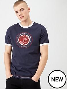 pretty-green-like-minded-logo-ringer-t-shirt-navy