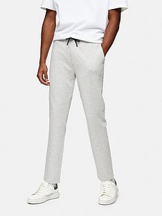 topman-jersey-whyatt-trousers-grey