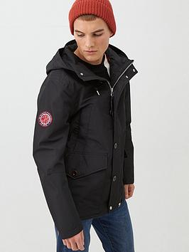 Pretty Green Pretty Green Like Minded Parka Jacket - Black Picture