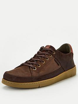 Barbour Barbour Bilby Leather Longline Cupsole Trainers - Brown Picture