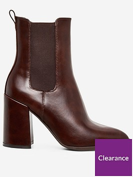 dorothy-perkins-dorothy-perkins-argyll-heeled-boots-brown