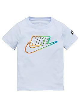 Nike Nike Sportswear Younger Boys Futura Blend T-Shirt - Grey Picture