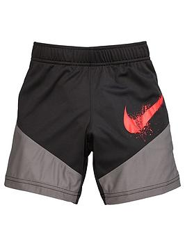 Nike Nike Younger Boys Dri Fit Dominate Graphic Training Shorts - Black Picture
