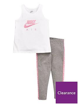 nike-nike-sportswear-air-younger-girls-vest-legging-set