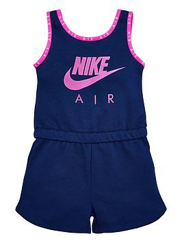Nike Nike Sporstwear Air Younger Girls Playsuit - Blue Picture
