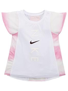 Nike Nike Younger Girls Instacool Training T-Shirt - Pink Picture