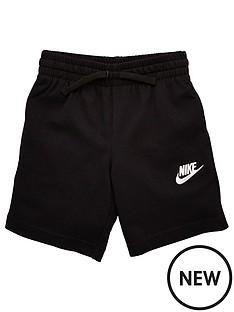 nike-sportwear-younger-boys-club-jersey-shorts-grey