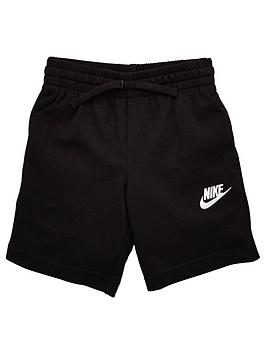 Nike Nike Sportwear Younger Boys Club Jersey Shorts - Grey Picture