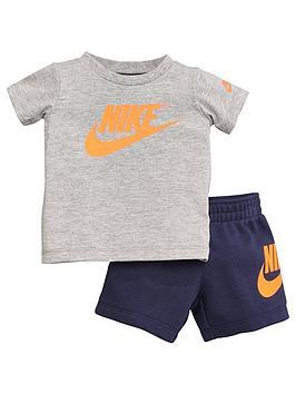 nike-sportswear-infant-boys-tee-andnbspfrench-terry-shorts-set-navy