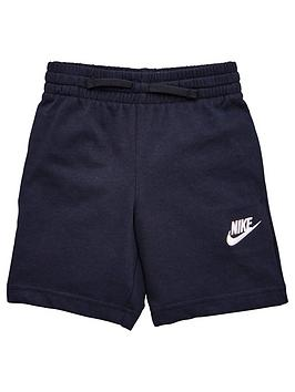 Nike Nike Sportswear Younger Boys Club Jersey Shorts - Black Picture