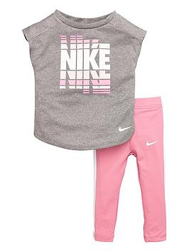 Nike Nike Sportswear Infant Girls Tunic And Legging Set - Pink Picture