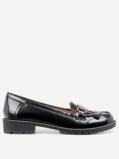 dorothy-perkins-lewis-loafers-black