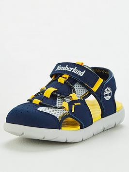 Timberland Timberland Boys Perkins Row Fisherman Sandals - Navy Picture