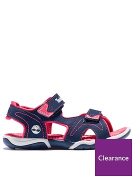timberland-girls-adventure-seeker-sandal-navy-pink