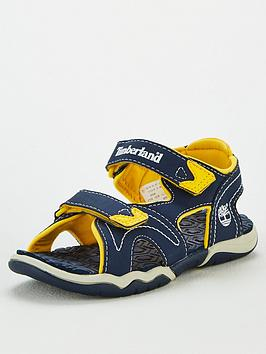 Timberland Timberland Boys Adventure Seeker Sandals - Navy/Yellow Picture
