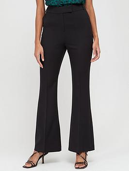 V by Very V By Very Bootcut Trousers - Black Picture