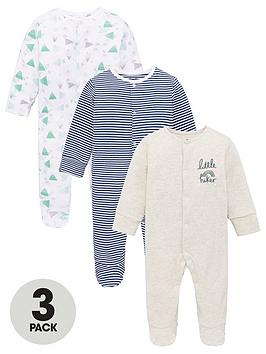 v-by-very-baby-boys-3-pack-sleepsuits-multi