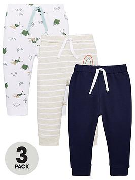 V by Very V By Very Baby Boys 3 Pack Bottoms - Multi Picture