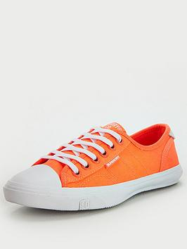 Superdry Superdry Low Pro Sneaker - Coral Picture