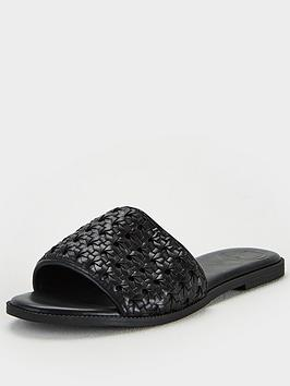 Superdry Superdry Woven Sandal - Black Picture