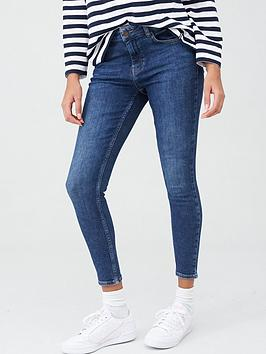 Superdry Superdry Mid Rise Skinny Jeans - Indigo Picture