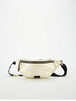 Superdry Superdry Metallic Bum Bag - Gold Picture