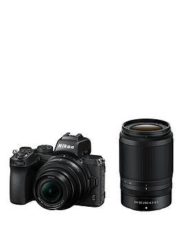 nikon-z-50-nikkor-z-dx-50-250mm-f45-63-vr-nikkor-z-dx-16-50mm-f35-63-vr