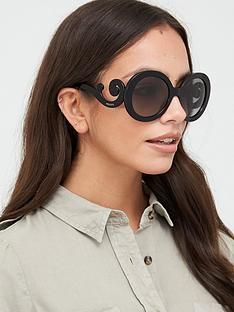 prada-circle-sunglasses-black