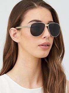 versace-aviator-sunglasses-pale-gold
