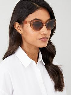 versace-cat-eye-sunglasses-transparent-brown