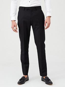 River Island River Island Slim Fit Suit Trousers - Black Picture