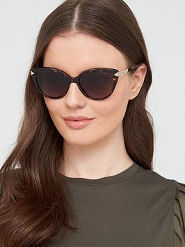 Guess Guess Gu7658 Cat Sunglasses - Havana Picture