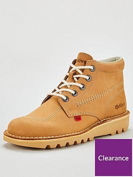 kickers-kick-hi-leather-boots-beige