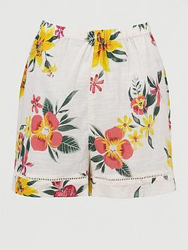 V by Very V By Very Printed Co-Ord Beach Short Picture
