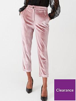 river-island-river-island-velvet-cigarette-trousers--pink