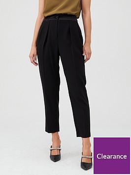 river-island-river-island-satin-tux-peg-trouser--black