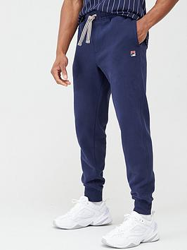 fila-visconti-tipped-cuffed-track-pants-navy