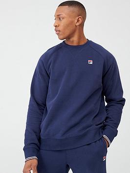 Fila Fila Pozzi Tipped Cuff Sweatshirt - Navy Picture