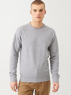 selected-homme-rami-pique-knit-sweatshirt-grey