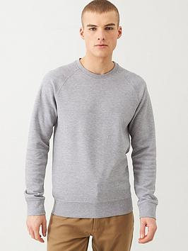 Selected Homme Selected Homme Rami Pique Knit Sweatshirt - Grey Picture
