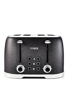 tower-glitz-1600w-4-slice-toaster-black