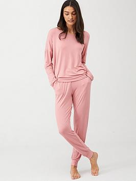 v-by-very-slouch-lounge-set-pink