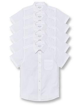 v-by-very-boys-5-pack-short-sleeve-school-shirts